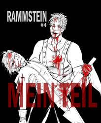 RAMMSTEIN #4 - MEIN TEIL by NISINsheep