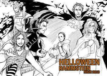 Helloween.Helloween! by NISINsheep