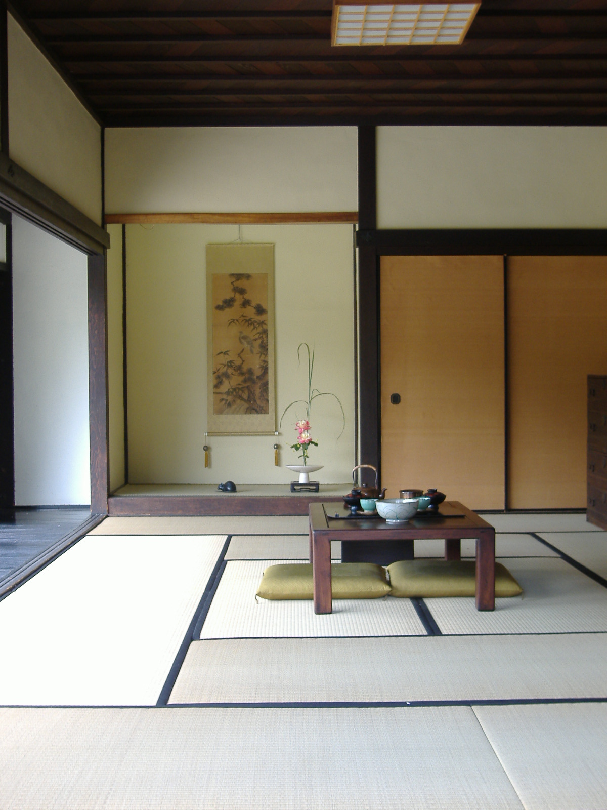 ... Japanese House: Dining Room By Gamefan23