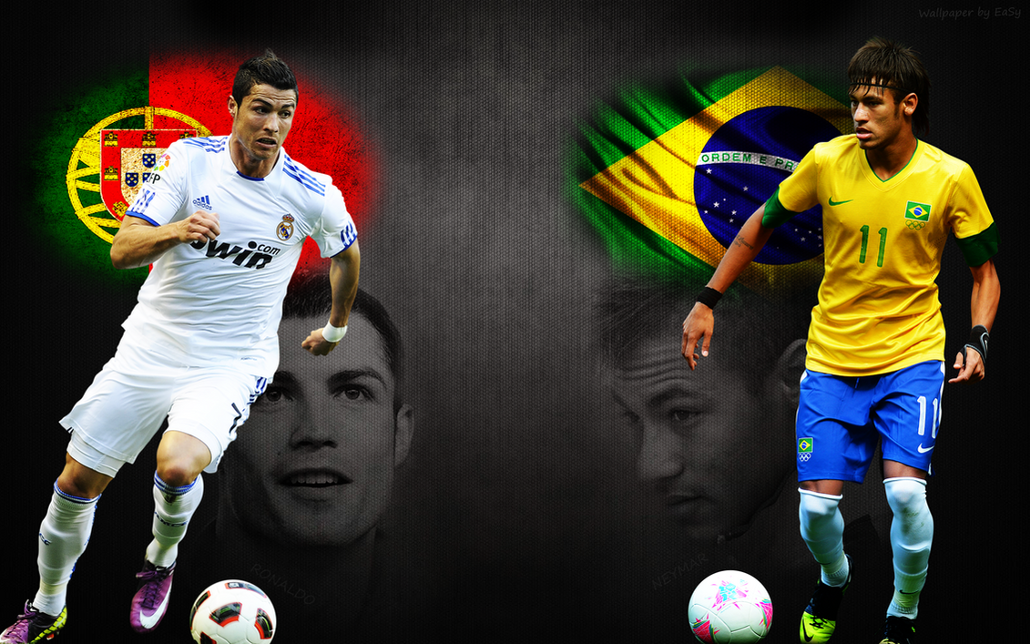 Neymar And Ronaldo WallPaper By EasySK