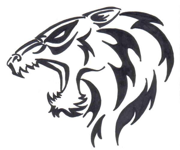 Tribal Wolf Head Tattoo By Doomwing On DeviantArt