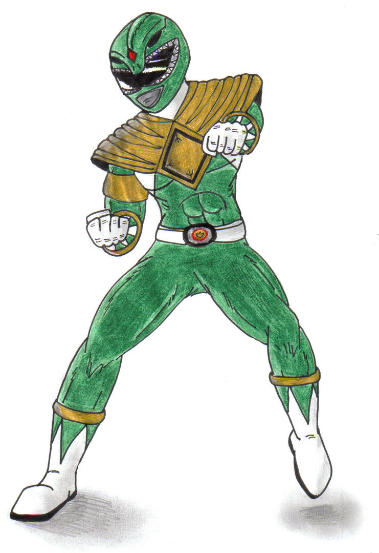 Green Ranger Tommy? by Doomwing