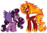(request) Midnight Sparkle Solar Flare