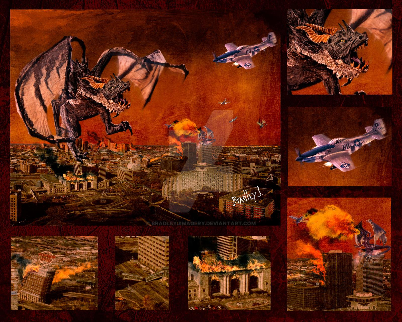 Dragons Return to Kansas City by BradleyJImagery