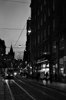 Prague night street by SniCky56