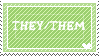 THEY/THEM STAMP by rocketdoq