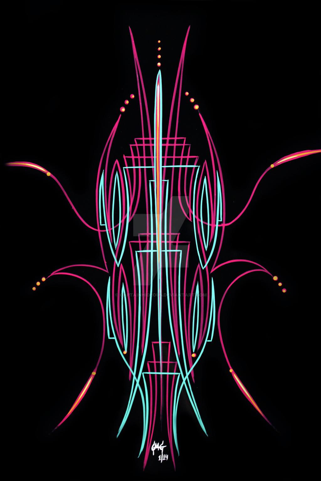 Old Skool Pinstripe Designs 2 By Captainhideous On Deviantart