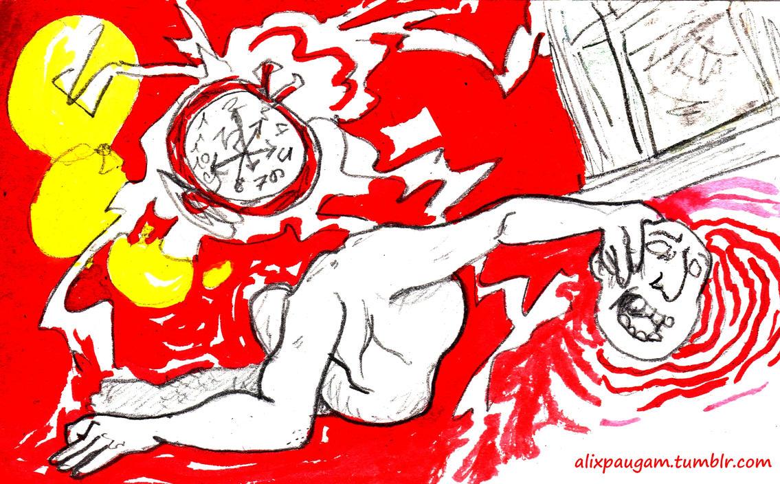 I HATE ALARM CLOCKS by AlixPaugam