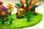 Hedgar the hedgehog -handmade-