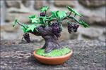 Miniature Vineyard -handmade-