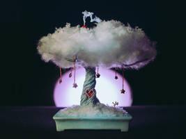 Fairy bonsai (handmade sculpture) by eVolutionZ