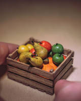 Clay fruits by eVolutionZ