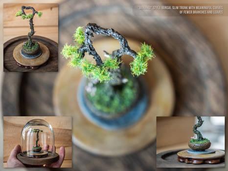 Bunjingi miniature pine tree