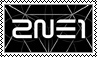 2NE1 CRUSH stamp by kas7ia