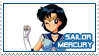 Sailor Moon - Sailor Mercury - stamp 71 by kas7ia