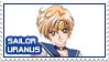 Sailor Moon - Sailor Uranus - stamp 78 by kas7ia