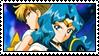 Sailor Moon - Michiru and Haruka - stamp 56 by kas7ia