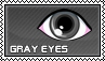 Gray eyes - stamp by kas7ia