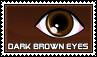 Dark brown eyes - stamp by kas7ia