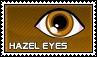 Hazel eyes - stamp by kas7ia