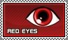Red eyes - stamp by kas7ia