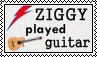 David Bowie - Ziggy Stardust - stamp by kas7ia