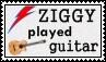 David Bowie - Ziggy Stardust - stamp by kas7ia
