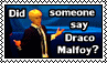 Did someone say Draco Malfoy? - stamp by kas7ia