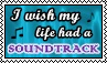I wish my life had a soundtrack - stamp by kas7ia