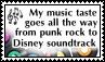 My music taste - stamp by kas7ia