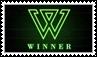WINNER logo - stamp 2