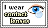 Contact lenses - stamp 1 by kas7ia