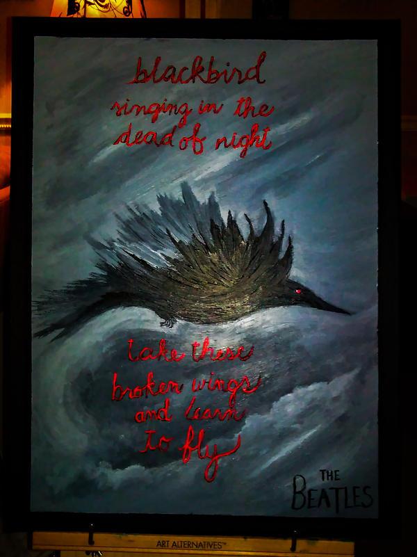 Blackbird by DarkSelfie