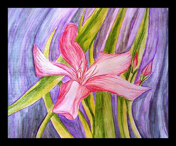 Watered Flowers by DarkSelfie