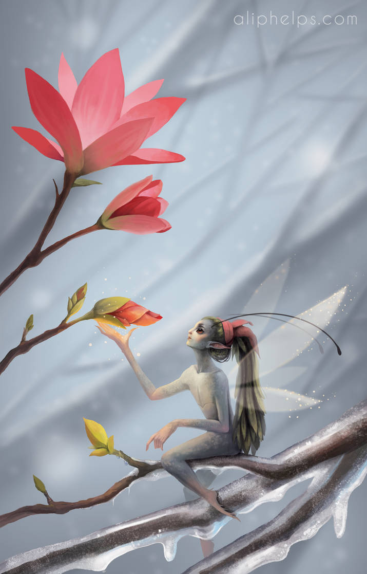 Spring Faery by aliphelps