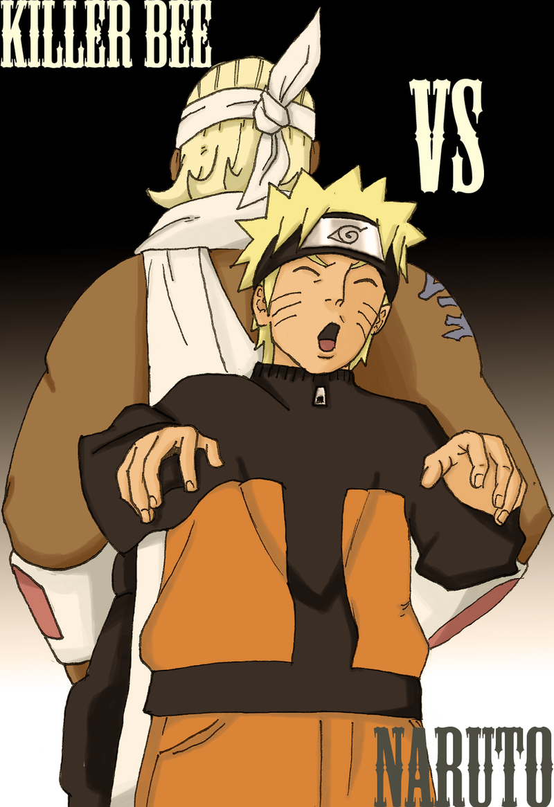 Killer bee vs naruto - photo#4