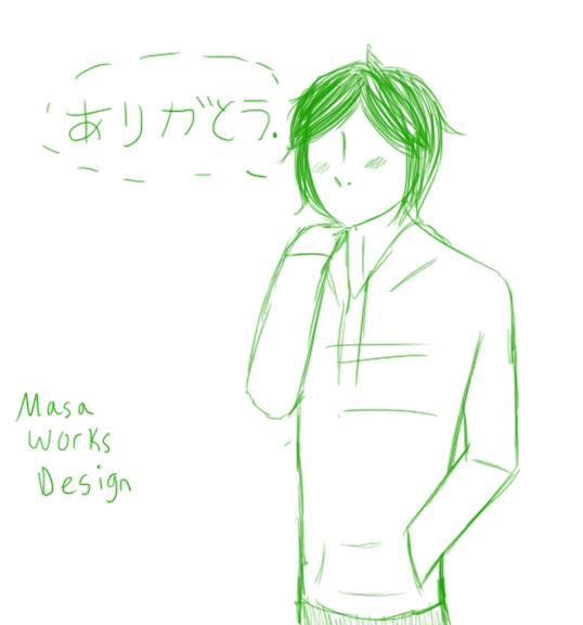 Happy Birthday Masa! by GraySlate