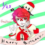 Happy Birthday Fukase by GraySlate