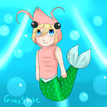 MerMay Day 24 - Shrimp by GraySlate