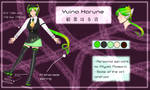 Yuina Harune Reference Sheet (+VB) by GraySlate