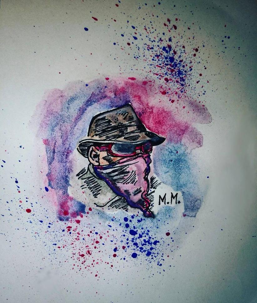 watercolors by manjaDoom