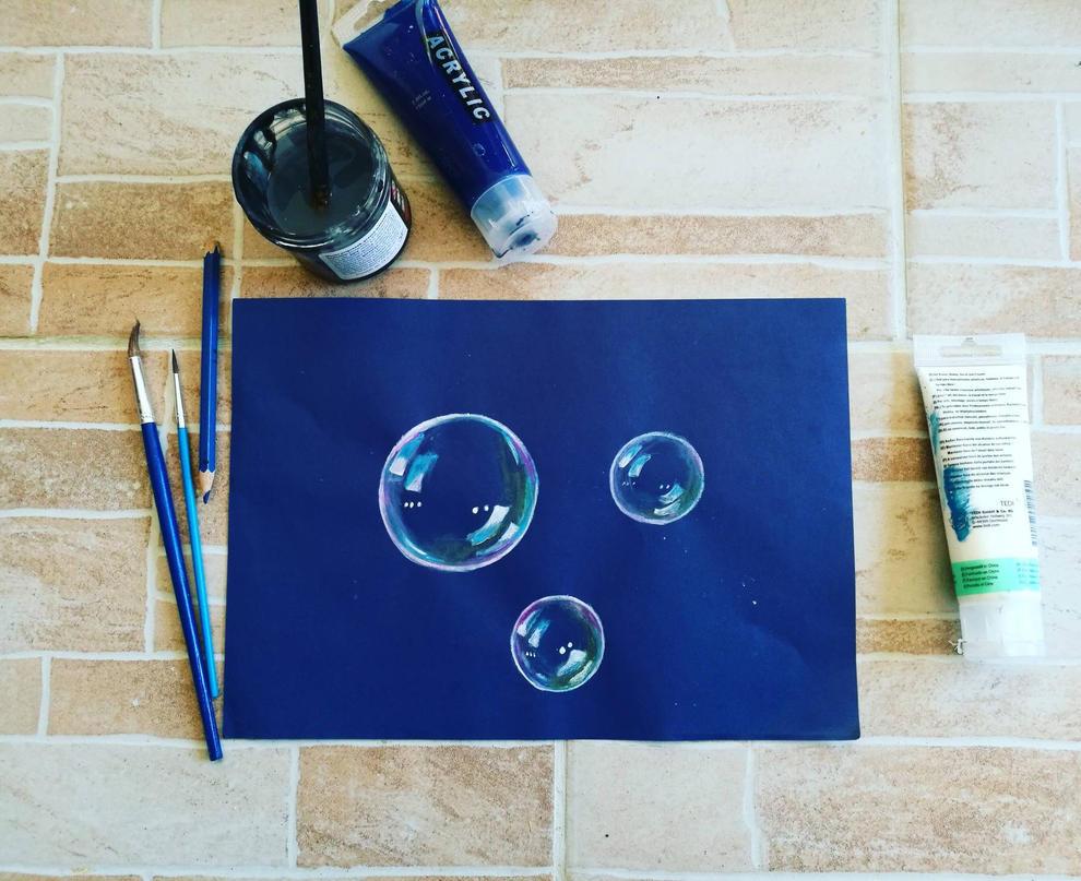 bubbles by manjaDoom