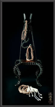 Stig Sculpchair with Rope