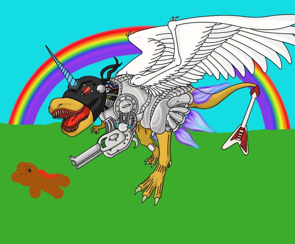 AwesomeSaurus Rex by ShiKageMaru
