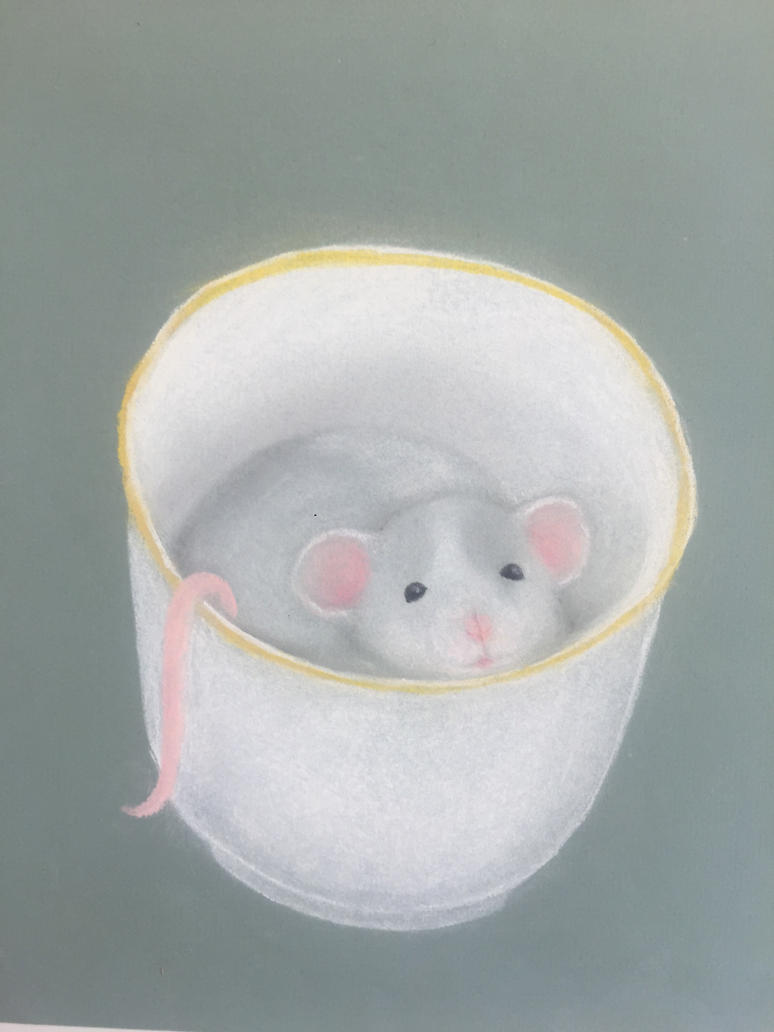 Teacup Rat by dumpster-child
