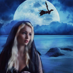 Dragon Girl by VampirFan
