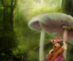 Forest melody by VampirFan