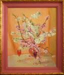 pink almonds by yellika