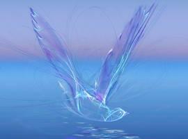 Blue bird by yellika