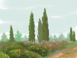 arrival of spring by yellika